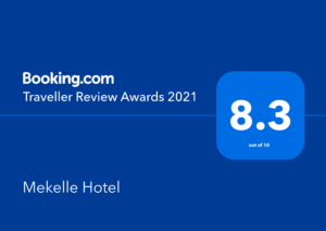 Booking.com Traveller Review Award for 2021